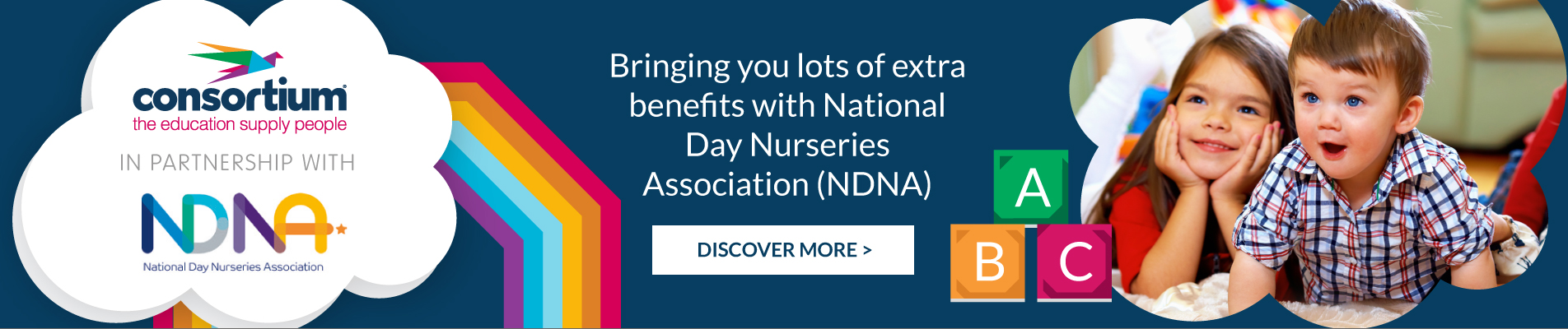 Bringing you lots of extra benefits with National Day Nurseries Association (NDNA)