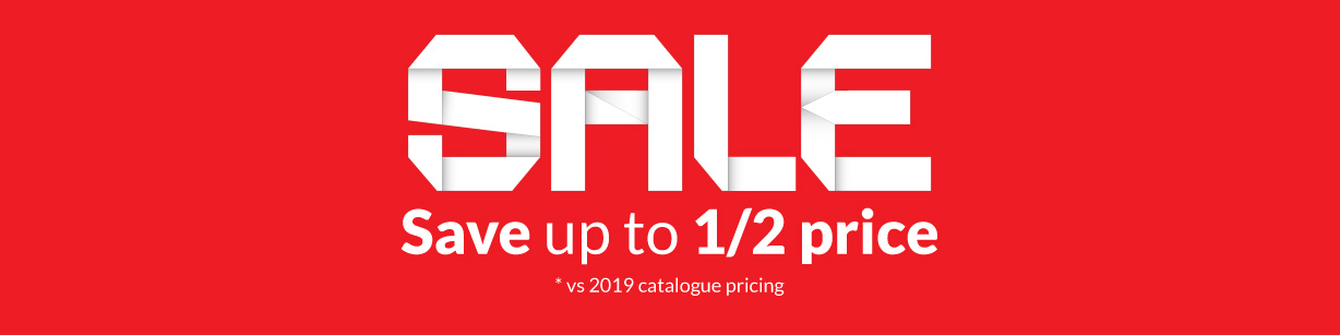 Sale - Save up to half price on selected products. Shop Now.