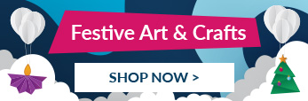 Discover our fantastic range of festive art and craft supplies.