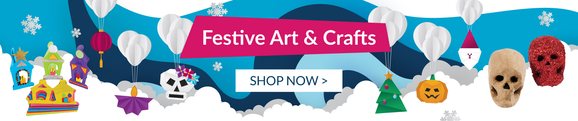 Shop our festive art and crafts products