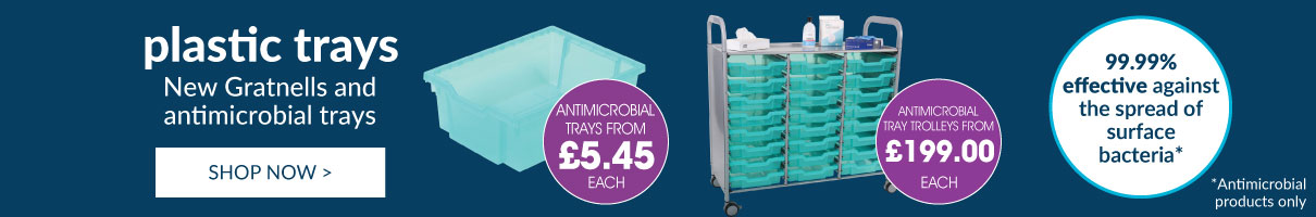 Gratnells Antimicrobial Products. Shop now