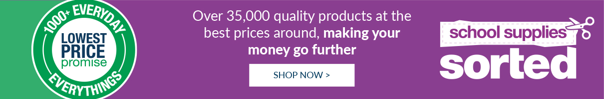 Over one thousand everyday everythings at the lowest prices… we promise! Shop now!