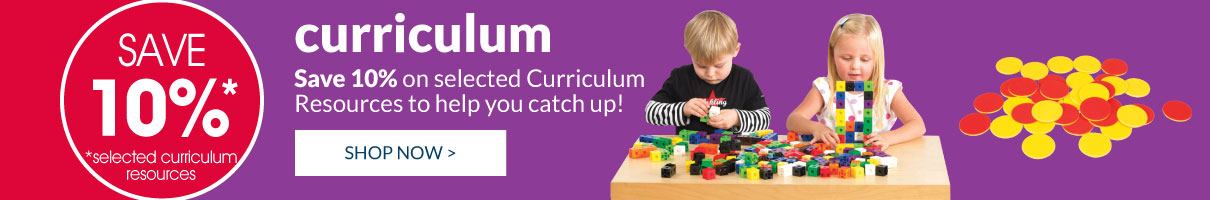 Save 10 percent on selected Curriculum resources