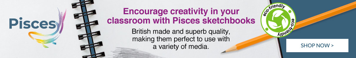 Pisces Sketchbooks. Shop Now