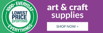 We've got your art and craft. Shop now!