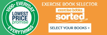 Find your exercise books easly and quickly with our exercise book selector
