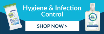 Shop our range of Hygiene and Infection Control products.