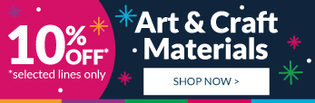 Festive art and craft! Shop now!