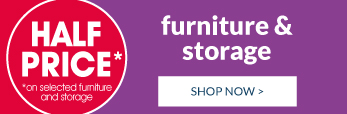 We've got your furniture and storage Shop now!
