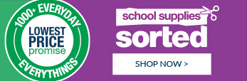 We've got your school supplies sorted! Shop now!