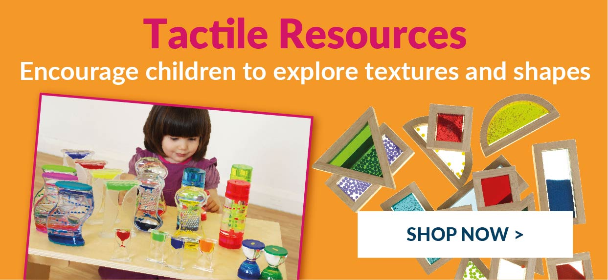 Early Years Tactile Sensory resources