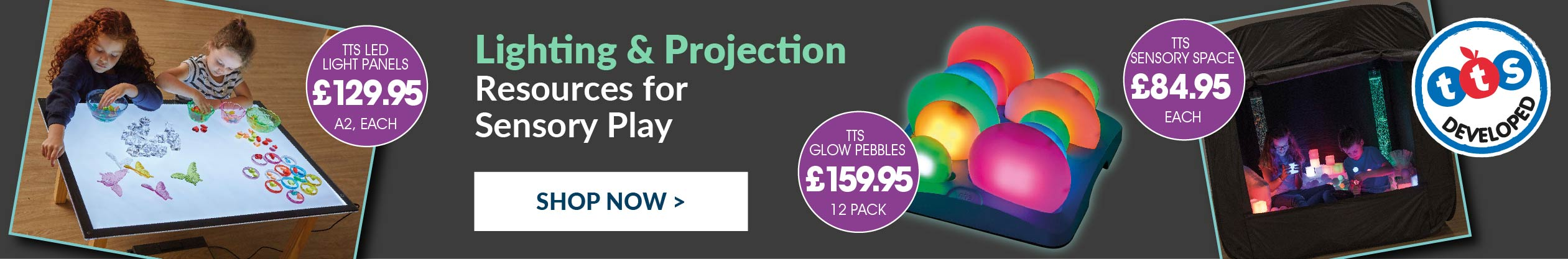 Early Years Lighting and Projection Sensory Resources. Shop Now.