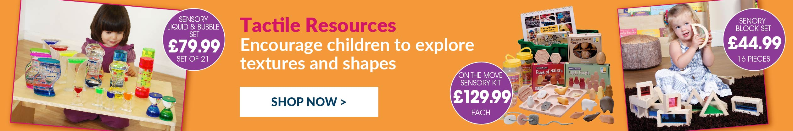 Early Years Sensory Tactile Resources. Shop Now.