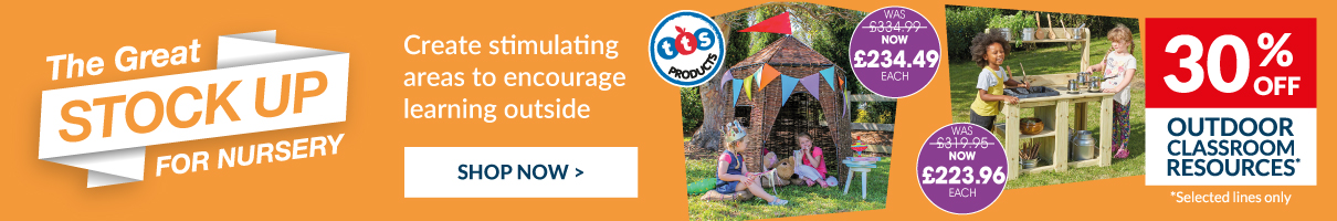 Create stimulating areas to encourage learning outside. Shop Now.