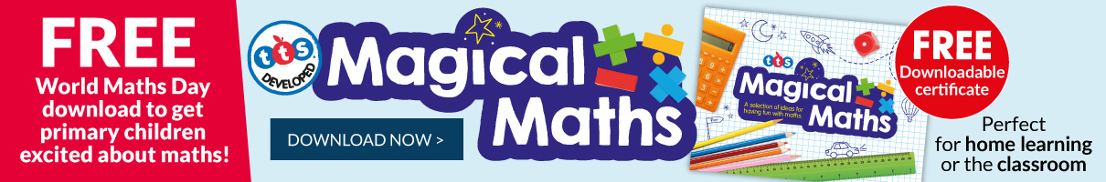Free Magical Maths Activity Book. Download Now.