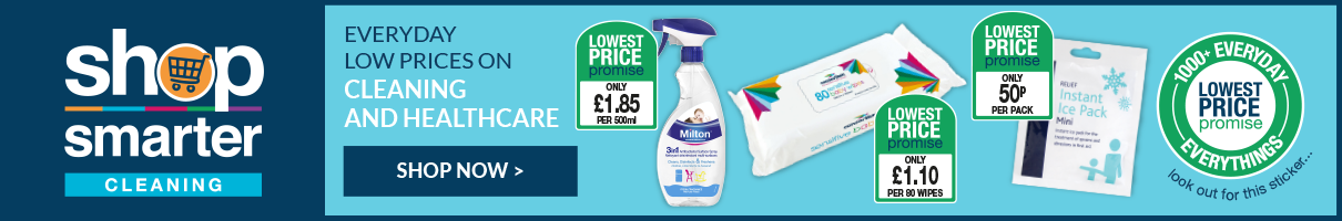 Stock up on your cleaning and hygiene essentials. Shop Now.