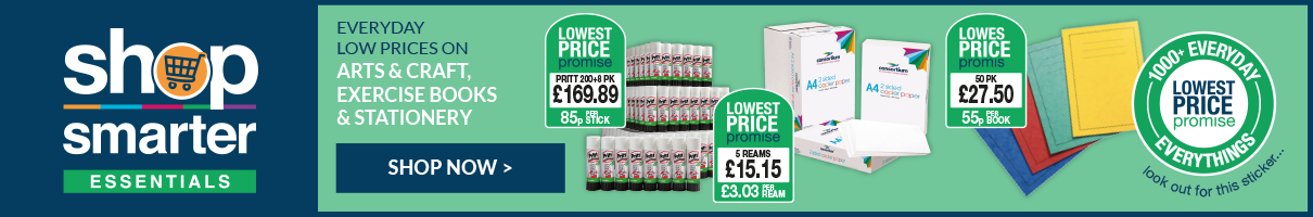 Everyday low prices on arts & craft, exercise books and stationery. Show now.