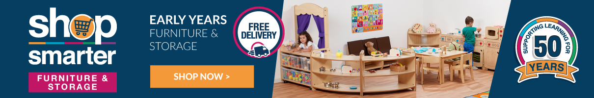 Free Delivery on Early Years Furniture and Storage. Shop Now