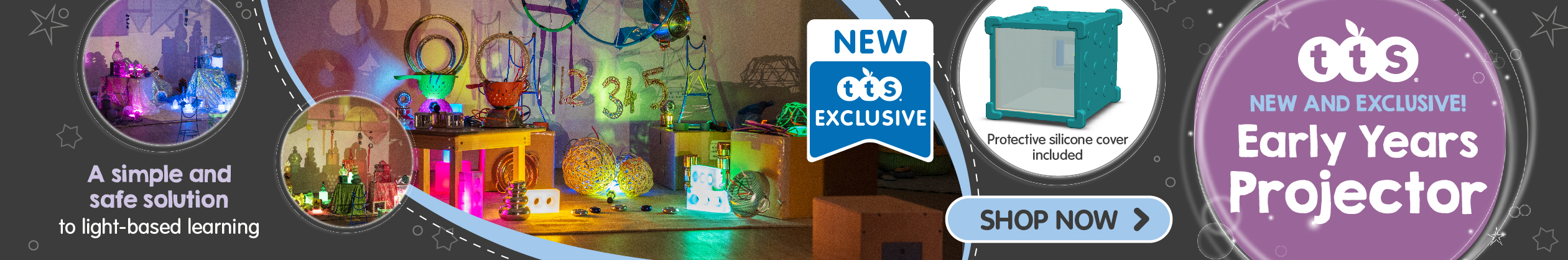 Shop the NEW Early Years Projector. Tried and tested by teachers an practitioners. Shop Now