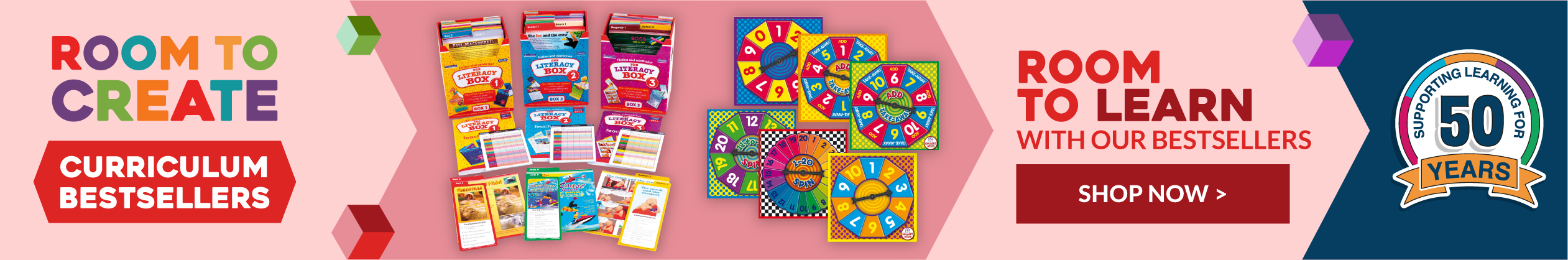 Check out our Curriculum Bestsellers. Shop Now.