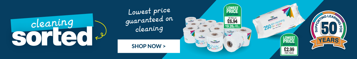 Price guarantee on cleaning essentials. Shop Now.