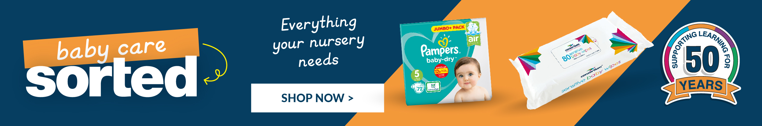 Discover our Early Years baby care range now. Shop Now