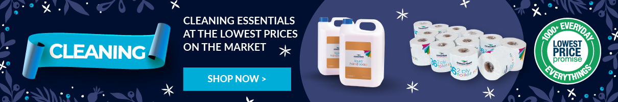 Everyday low price, show your cleaning products here now.