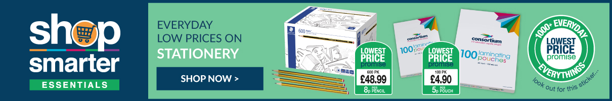 Everyday low prices on stationery