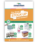 Consortium The Great Stock Up For Nursery Flyer