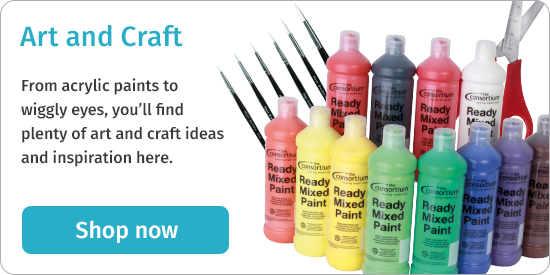 From acrylic paints to wiggly eyes, you'll find plenty of art and craft ideas and inspiration here. Shop now