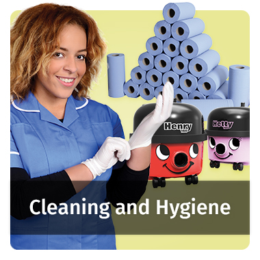 Cleaning and Hygiene range - view now