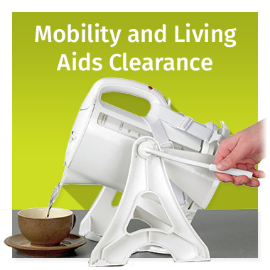 Mobility and Living Aids Clearance - View now