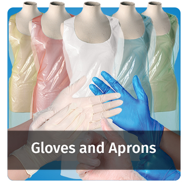 Gloves and Aprons range - View now