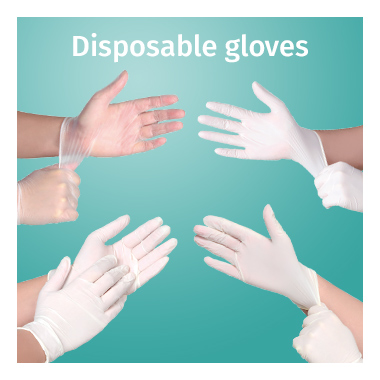 Disposable Gloves range - View now
