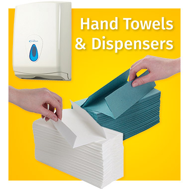 Hand towels and dispensers range - View now