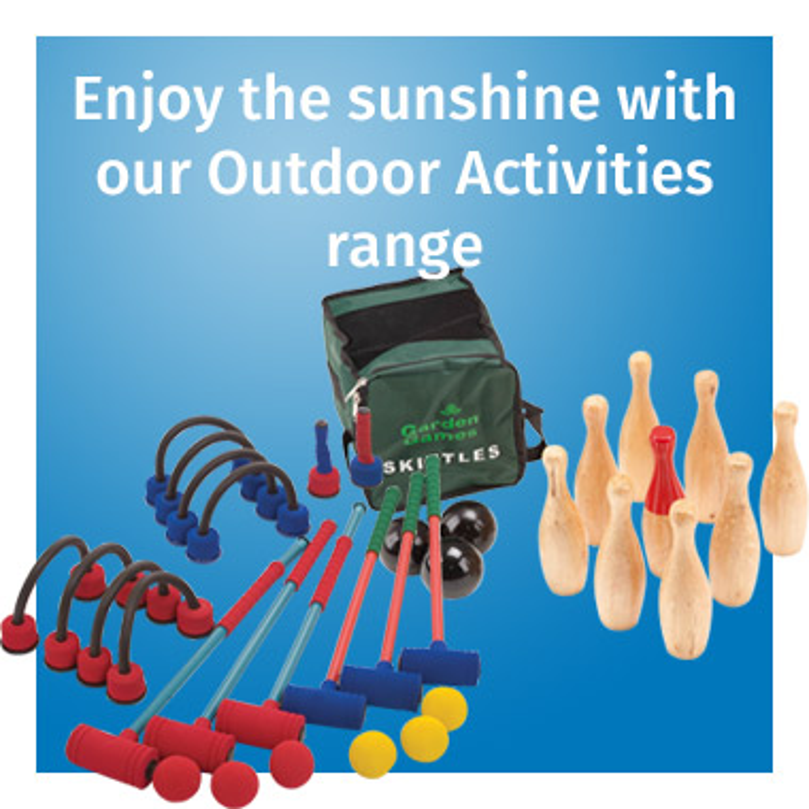 Outdoor Activities range - View now