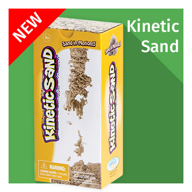NEW Kinetic Sand - View now