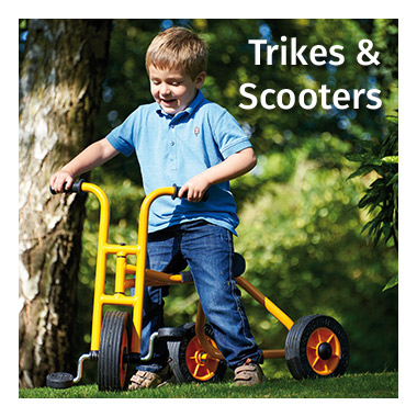 Trikes & Scooters range - view now