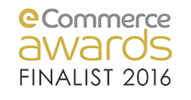 Ecommerce Awards Finalist 2016