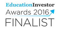 Education Investor Awards Finalist 2016