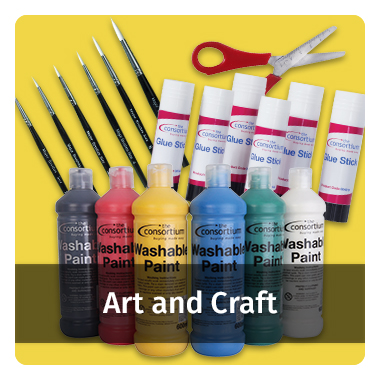 Art and Craft range - view now
