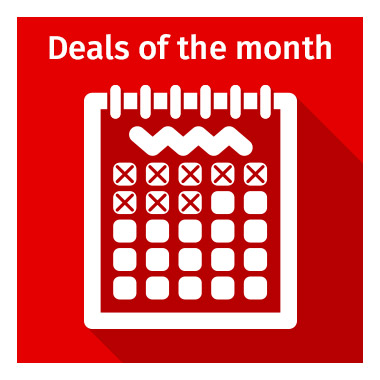 Deals of the Month - view now