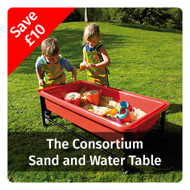 Save £10 on our Sand and Water table