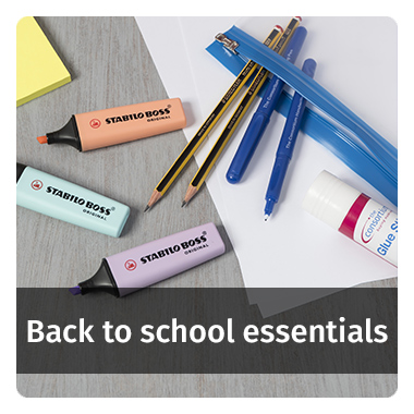 Back to school essentials - view now