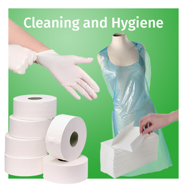 Cleaning & Hygiene range - view now